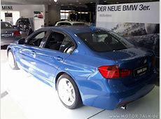 Bmw f30 estorilblau