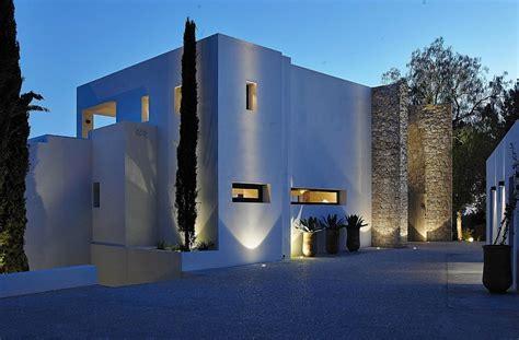 lavish modern villa  ibiza minimalist design