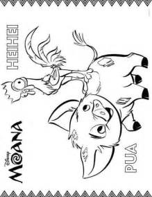 Moana Coloring Pages Printable