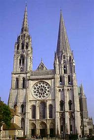 Gothic Cathedral Chartres France