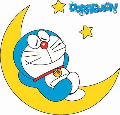 Doraemon Transparent Sleeping Night Cartoon Flying Wallpapers