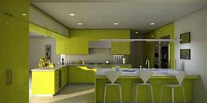 21 refreshing green kitchen design ideas godfather style With kitchen colors with white cabinets with beauty and the beast stickers