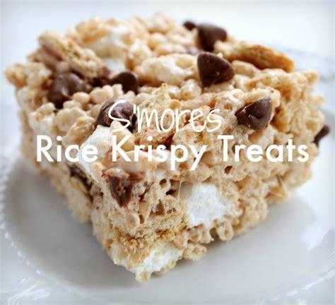 rice krispies treats recipe s mores rice krispy treats recipe real life dinner s more rice krispies best rice krispy recipe