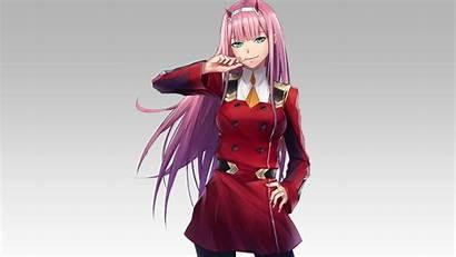 Zero Anime Darling Franxx Pink Hair Uniform