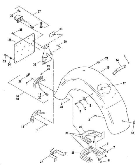 02 Road King Wiring Diagram by Harley Road King Parts Diagram Diagram Auto Wiring Diagram
