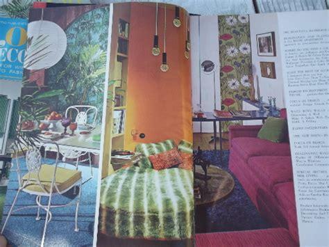 Home Decor Magazines : 60s Vintage Home Decor Magazines Lot, Retro Mod Furniture