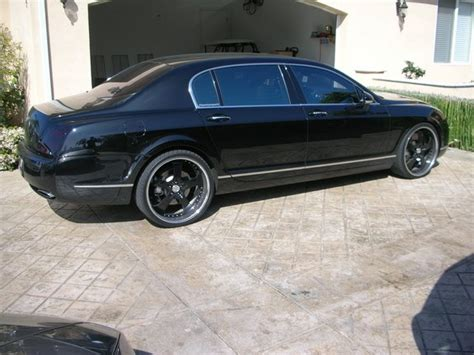 Bentley Flying Spur Modification by Moblambo 2007 Bentley Continental Flying Spur Specs