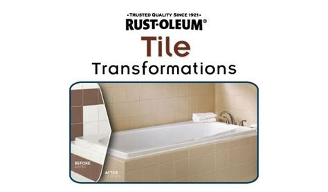 rust oleum tile transformations how to