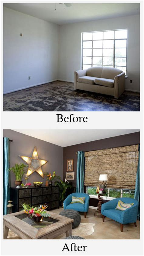 before and after room makeovers living room makeovers before and after photos