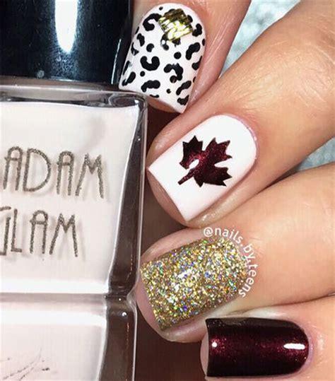 easy autumn nail art designs ideas  fall nails