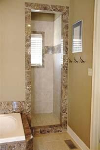 Doorless Showers Small Bathroom Designs