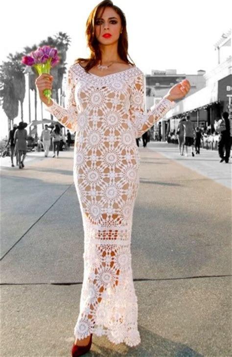 cape maxi 2 wedding crochet dress pattern designer crochet