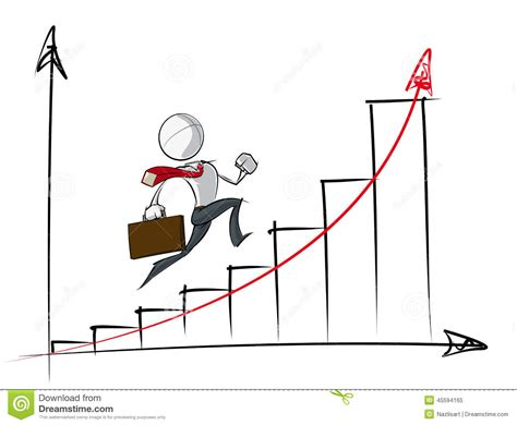 Exponential Growth Chart Stock