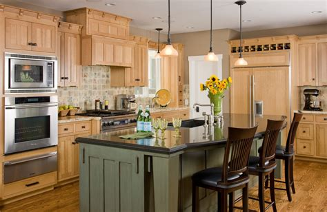 image of tv lift cabinets for flat maple kitchen cabinets kitchen traditional with board and