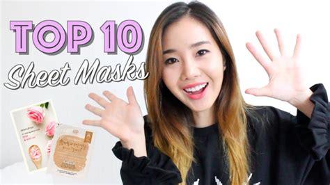 10 korean sheet masks for glowing skin this summer season