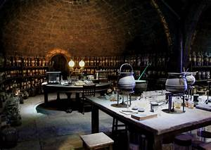 Potion Class In The Hogwarts Dungeons Audio Atmosphere