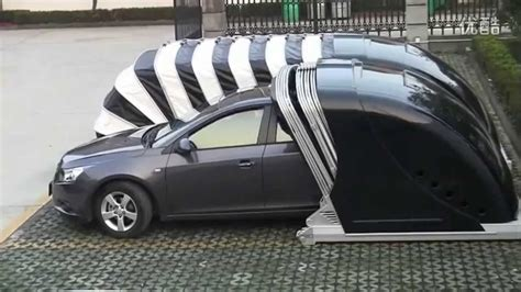 Car Shelter by Mechanical Engineering Students Projects Mobile Car