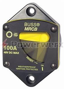 Eaton Bussmann 187p Series Resettable Waterproof Circuit