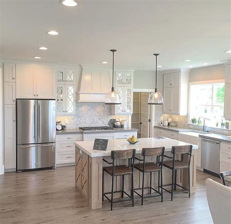 triangle kitchen island simple and open kitchen plenty of space between the 2941