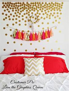 gold circle dot shaped wall decals gold by With decorate with gold circle wall decals