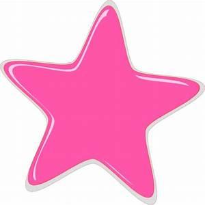 Everything Pink Clip Art   Pink Star Editedr clip art ...