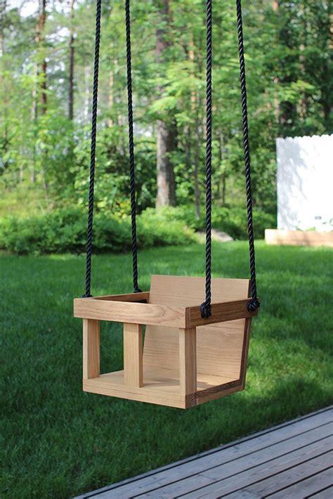 diy toddler swing wood    kids swingdiy