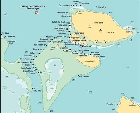 wakatobi tomia island dive sites scuba diving resource