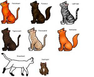 Warrior Cats RiverClan Names