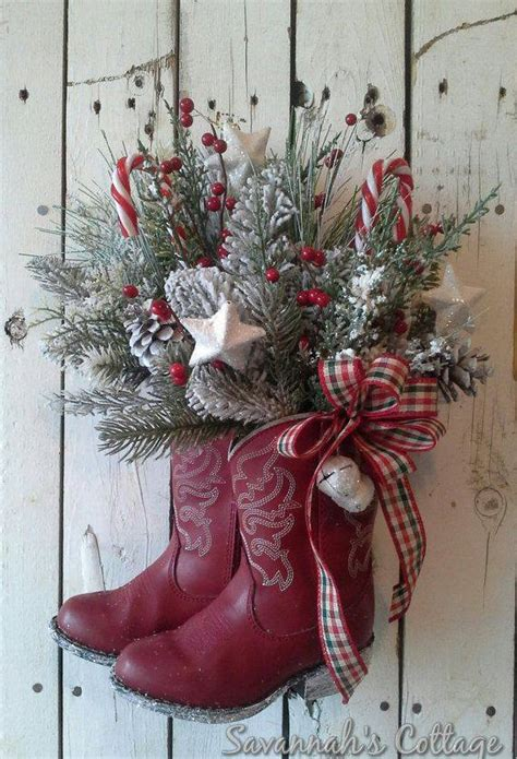 30 of the best diy wreath ideas kitchen with my 3 sons - Cowboy Christmas Decorating Ideas