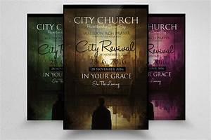 free church revival flyer template - free church revival flyer template editable downloads