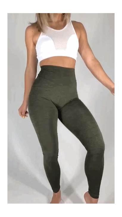 Leggings Yoga Pants Prime Scrunch Tights Butt