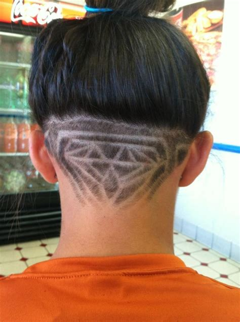 head diamond shaving hair styles hair