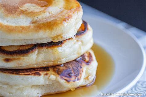 recette cuisine usa recette de pancakes épais et très moelleux