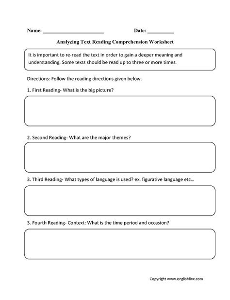 17 ideas about comprehension worksheets on pinterest