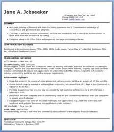 loan processor resume sle sle of loan processor resume for application slebusinessresume
