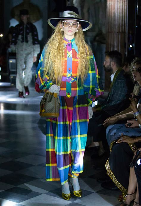 guccis cruise show political rome takes