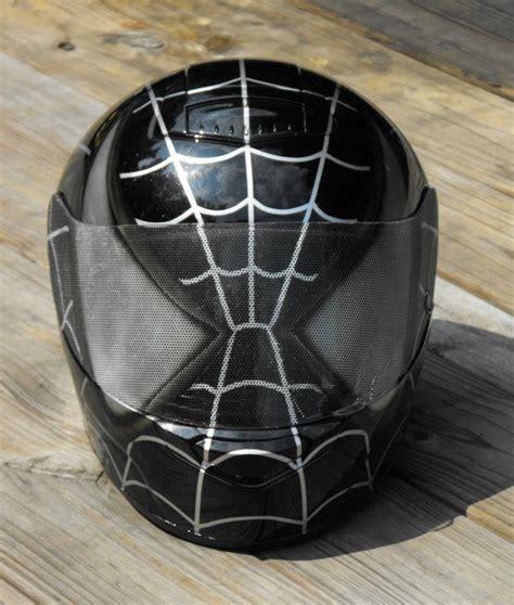 Spider Man Custom Airbrush Painted Motorcycle Helmet Ebay