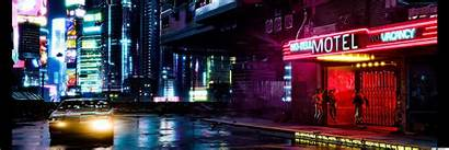 Cyberpunk Dual Monitor 2077 Wallpapers Backgrounds Wallpaperaccess