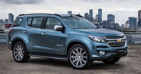 2016 Chevrolet Trailblazer Facelift Imported To India For