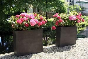 Blumenkübel Als Raumteiler : 4er set pflanzk bel raumteiler aus beton elemento terra ~ Michelbontemps.com Haus und Dekorationen