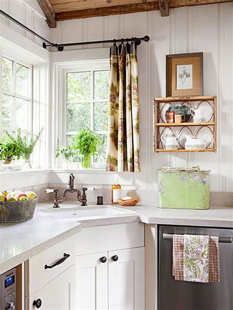 curtain rods vintage kitchen and vintage windows on