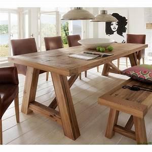 Pendelleuchte Esstisch Holz : balken tisch holz esstisch balkeneiche und esstisch eiche ~ Watch28wear.com Haus und Dekorationen