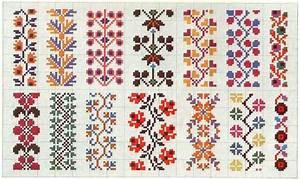 Border 74 | Free chart for cross-stitch, filet crochet ...