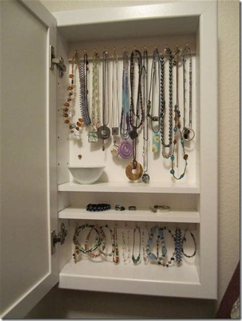 Stand Up Medicine Cabinet by 25 Cool Diy Ideas For A Jewelry Holder Guide Patterns