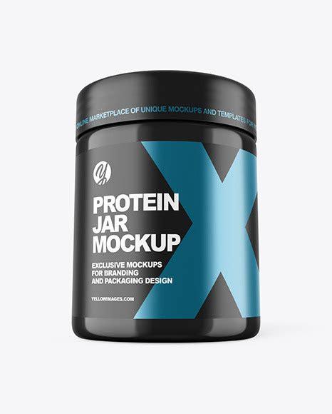 Object mockups, apparel mockups, free matte protein jar mockup bag & sack mockups, visualise your ideas on this mockup of a matte. دانلود موکاپ قوطی پروتئین Glossy Protein Jar Mockup 52097 ...