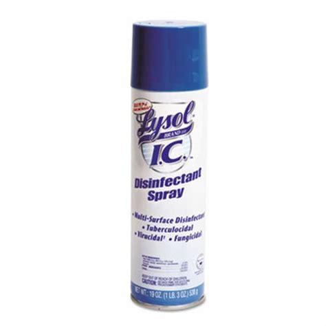 Lysol 95029 I.C. Disinfectant Spray, 12 Aerosol Cans