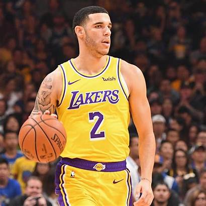 Ball Lonzo Lakers Lebron James Curry Stephen
