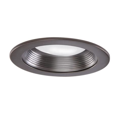 home depot recessed lighting trim halo 5 in tuscan bronze recessed lighting baffle trim