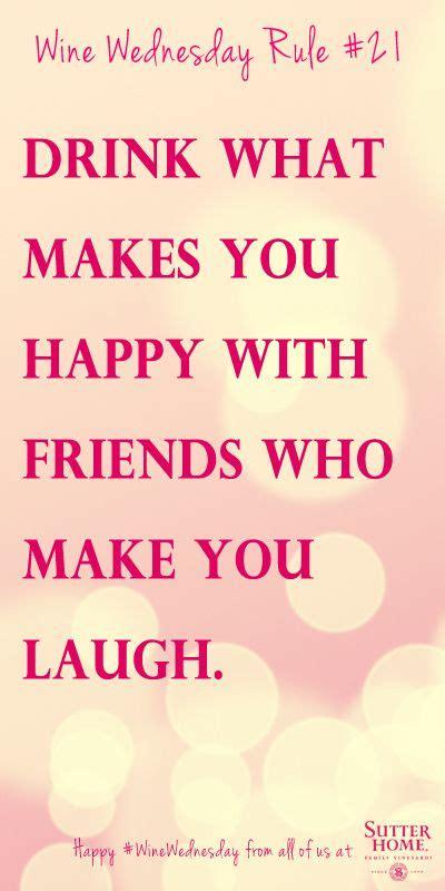 drink    happy  friends    laugh