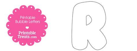 printable bubble letter  template